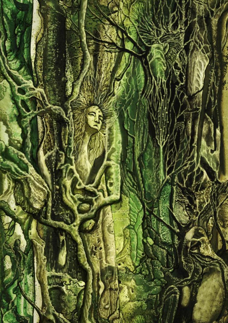Fantasy Forest by ravenscar45