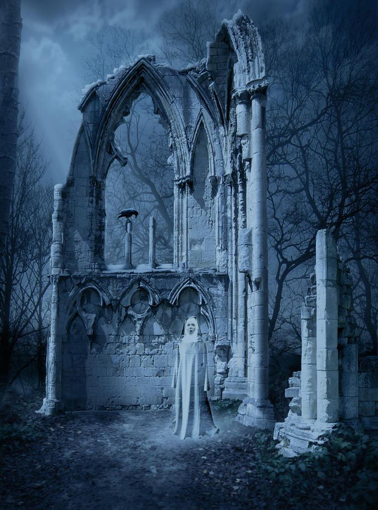 Gothic Ruin by ravenscar45