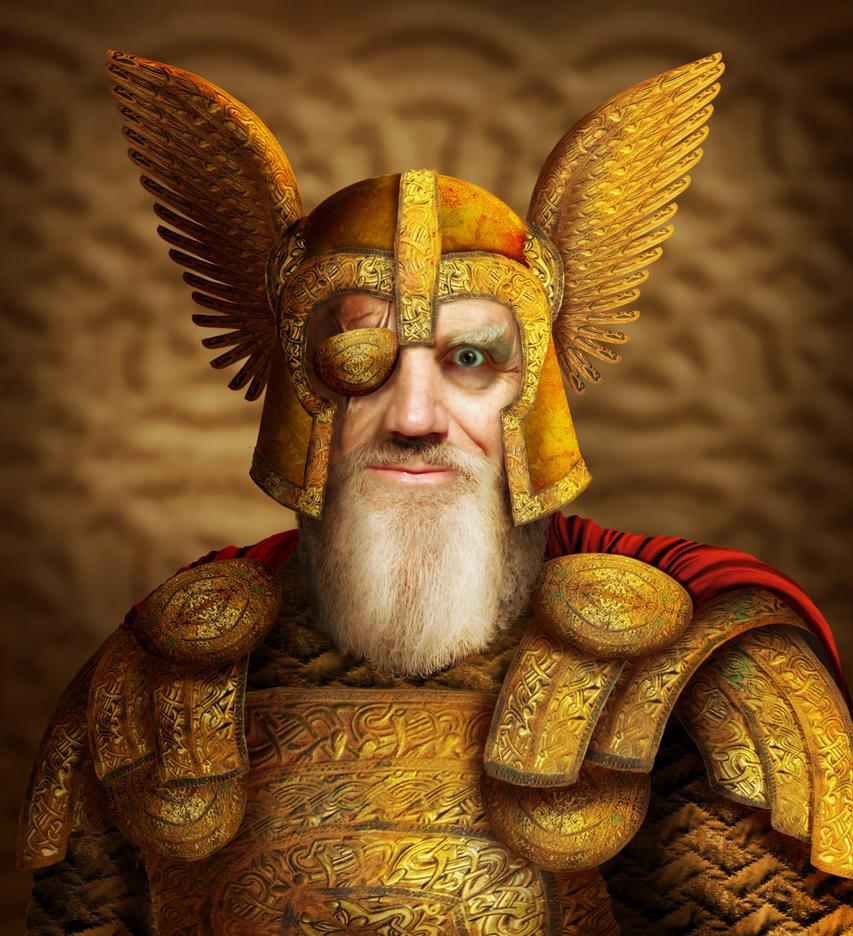 Odin by ravenscar45