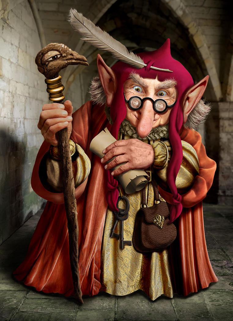 The Scroll Keeper by ravenscar45