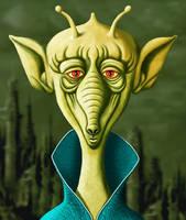 Alien Green by ravenscar45