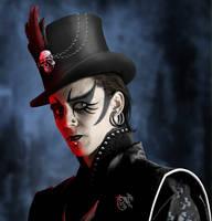 Gothic Tom Hiddleston by ravenscar45