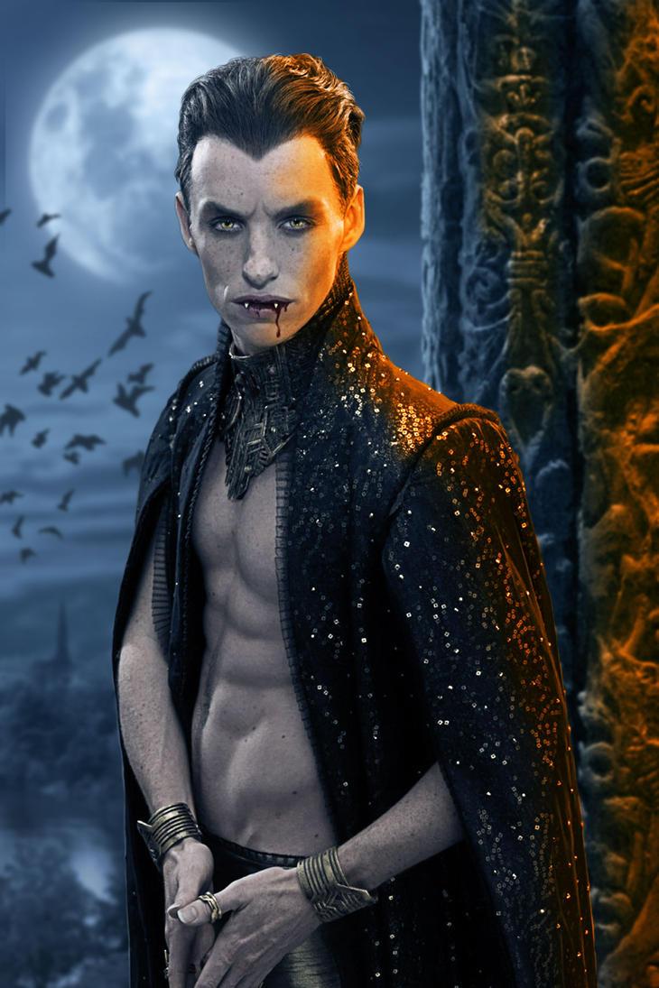 Eddie Redmayne, Vampire by ravenscar45