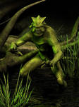 Swamp Monster by ravenscar45