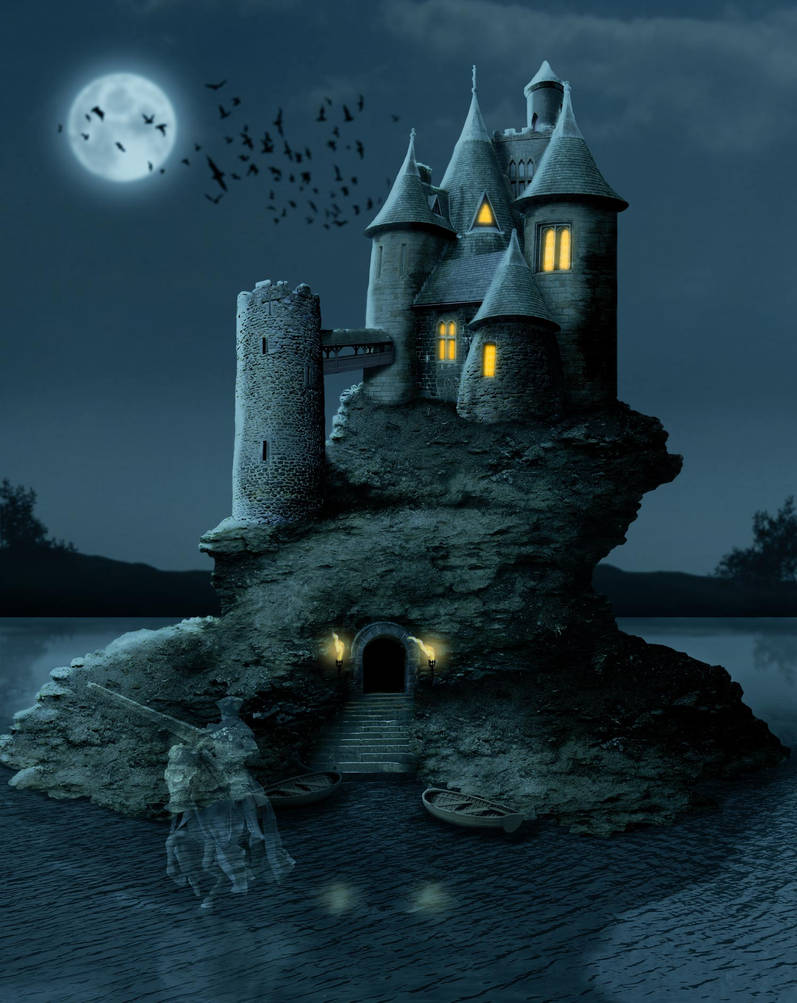 Ghost Castle by ravenscar45