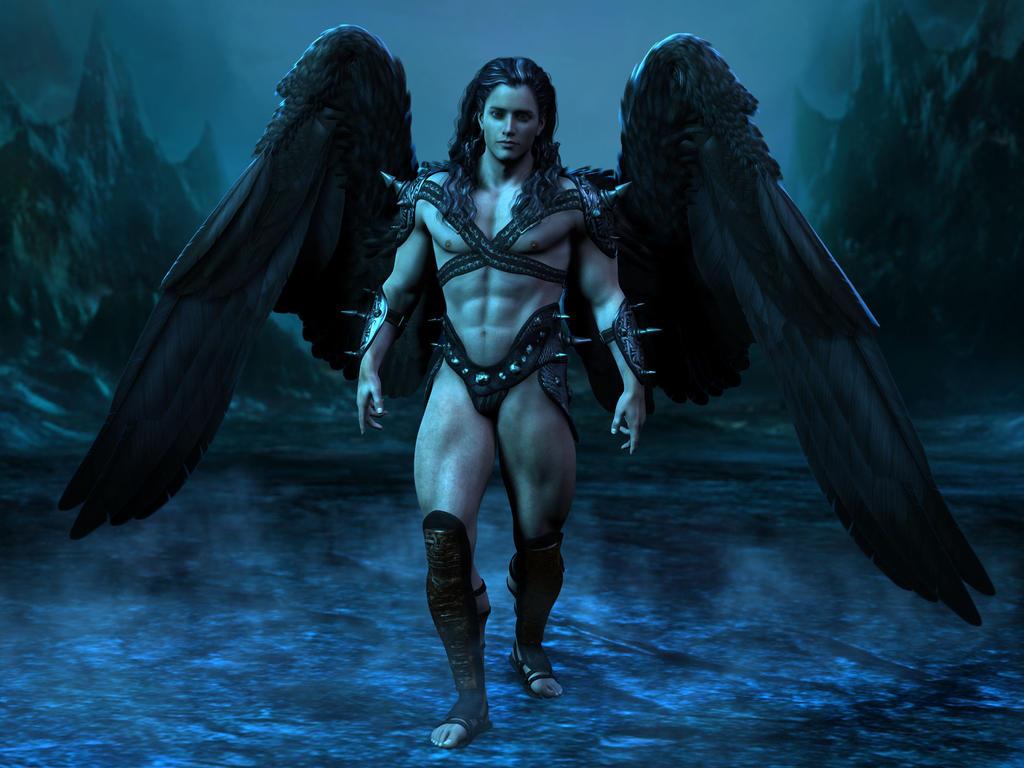 Fallen Angel by ravenscar45
