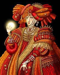 Lady in Red by ravenscar45