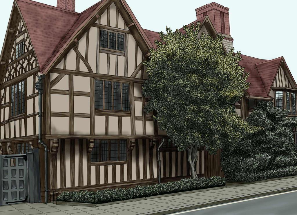 Hall's Croft by ravenscar45