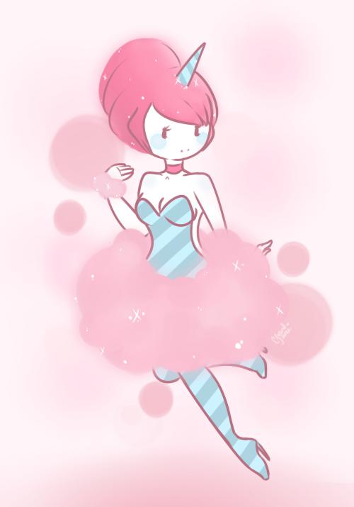 Cotton Candy Princess By CrayonKat