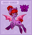 Pony Name Design Trade: Night Orchid