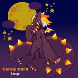 Candy Corn Imp Werenom Adoptable by CrayonKat