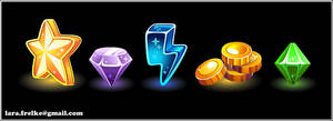 gaming icons by larra-vit