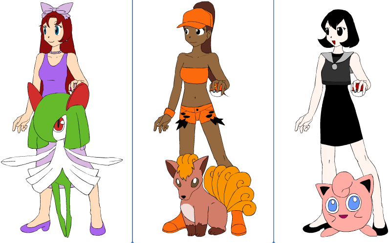 how to draw pokemon trainers