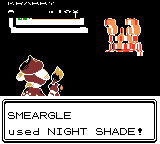 Gold, using Crystal. and Shade Smeargle Silver, by PokemonOnlineGames