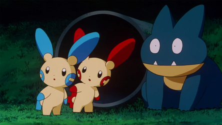 Minun, Deoxys. Plusle, Munchlax, seen Destiny and