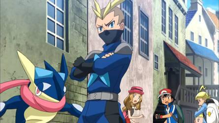 Ninja Riot's Greninja