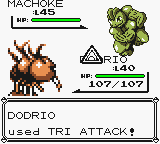 Tri Green, Dodrio Yellow. using Red, Blue, Attack by PokemonOnlineGames