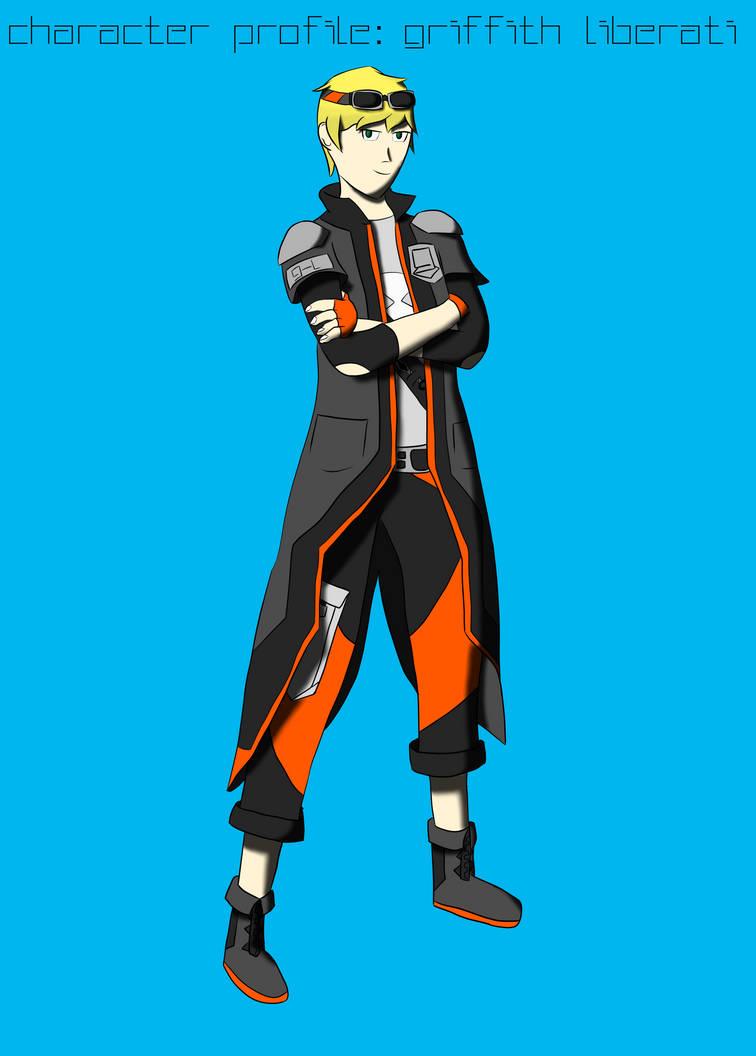 Character design: Griffith Liberati