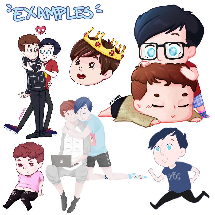 Commisssions Chibis Examples by impalardis