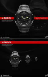 J-Shock watch icon by JOMMANS