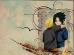 Naruto x Sasuke wallpaper