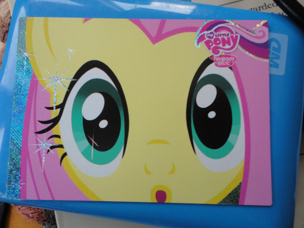 Fluttershy Promo Card by lrft4san
