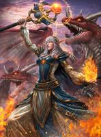 Dragoncaller Alanna by Ze-l