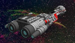 Buck Rogers - Searcher Model 1 by Shadowstate