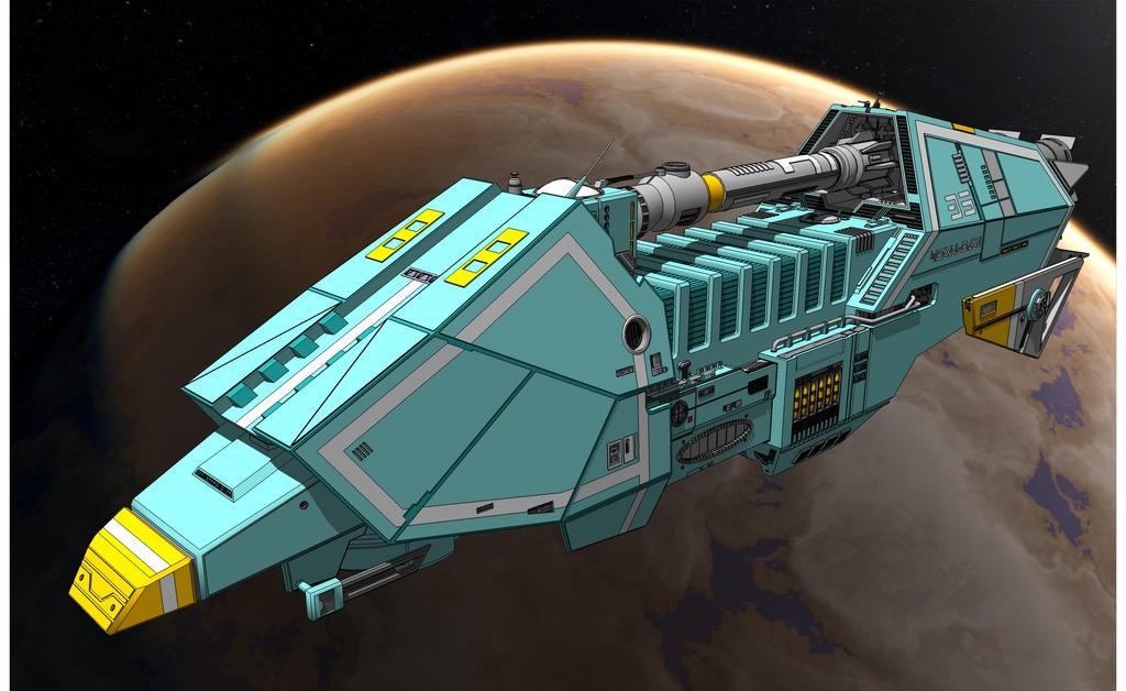 Star Wars - Action-IV Transport