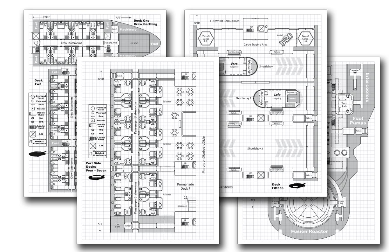 Phoenix starliner deckplan pack for traveller by shadowstate on phoenix starliner deckplan pack for traveller by shadowstate baanklon Choice Image