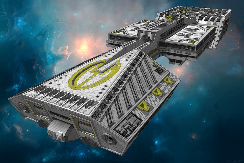 Traveller - Plankwell-class Dreadnought (v1.1) by ...