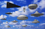 Watch the Sky - SketchUp 3D UFO Collection