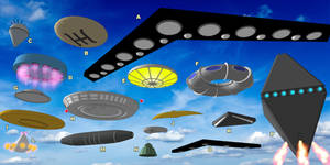Watch the Skies - SketchUp UFO Collection (Part 2)