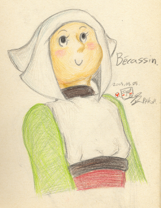 Becassine by Penjo