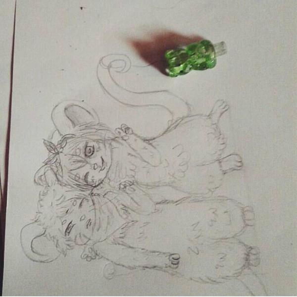 hi (sketch) by NekoCalista