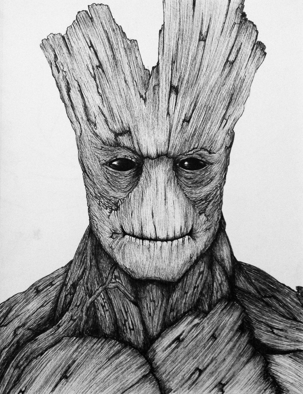 Groot by Goldenchupacabra on DeviantArt