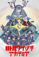 Little Witch Academia X KLK Poster by CoffeeCrayon