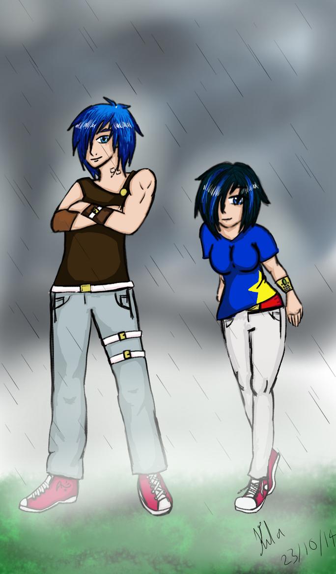 The speedy duo by Kila-Knight