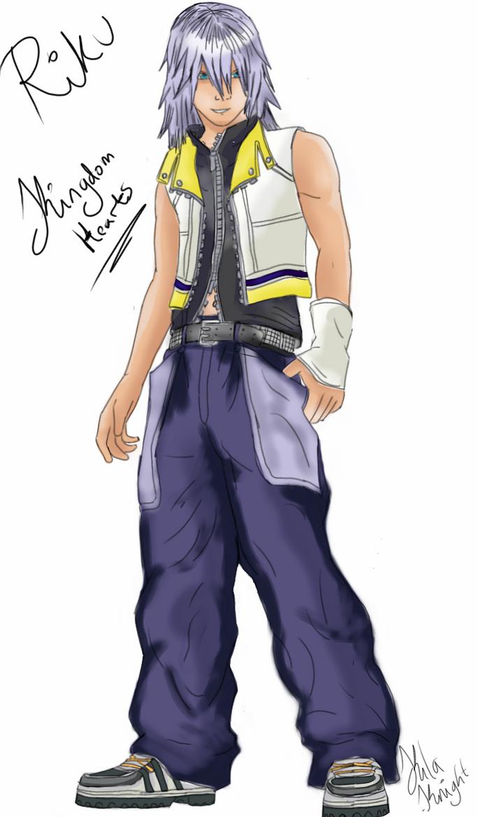 Riku Kingdom Hearts by Kila-Knight