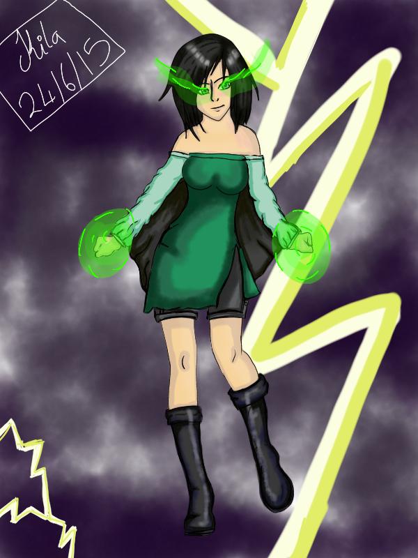 Moosen as a Super villain by Kila-Knight