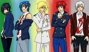 My boys in DWD clothes