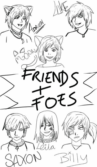 Friends and Foes by Kila-Knight