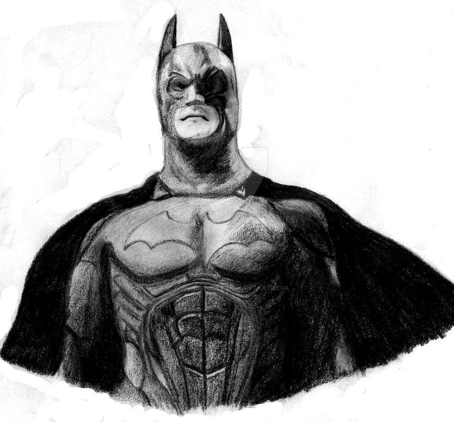 Batman Pencil Drawing by PencilDoodle