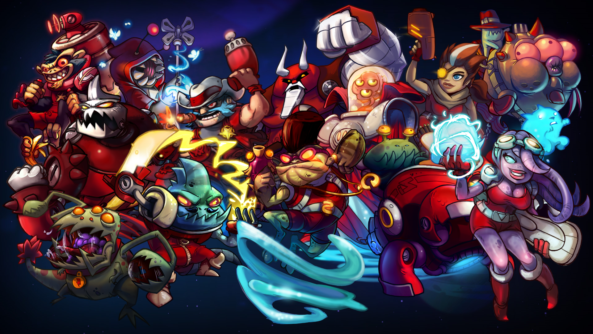 Awesomenauts: Ayla 2017 pc game Img-3
