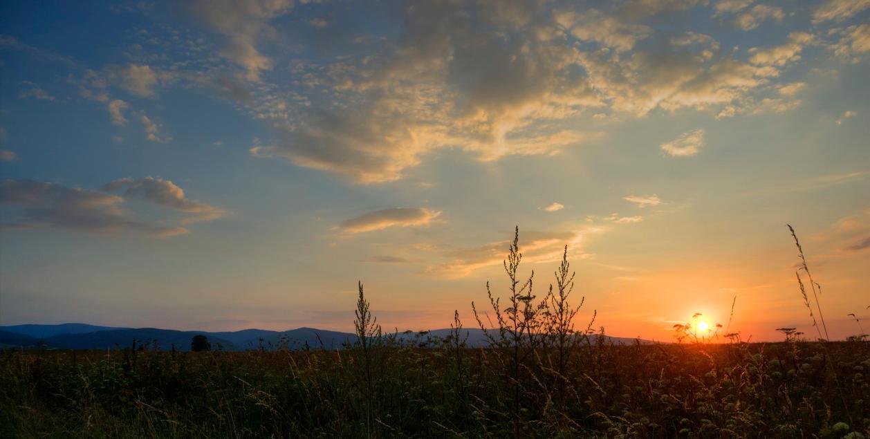 Silent sunset by racik