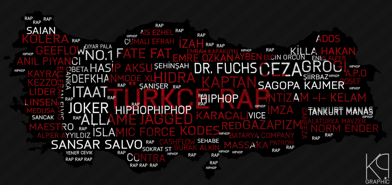 Turkce Rap Wallpaper Work By Kpdsgn59