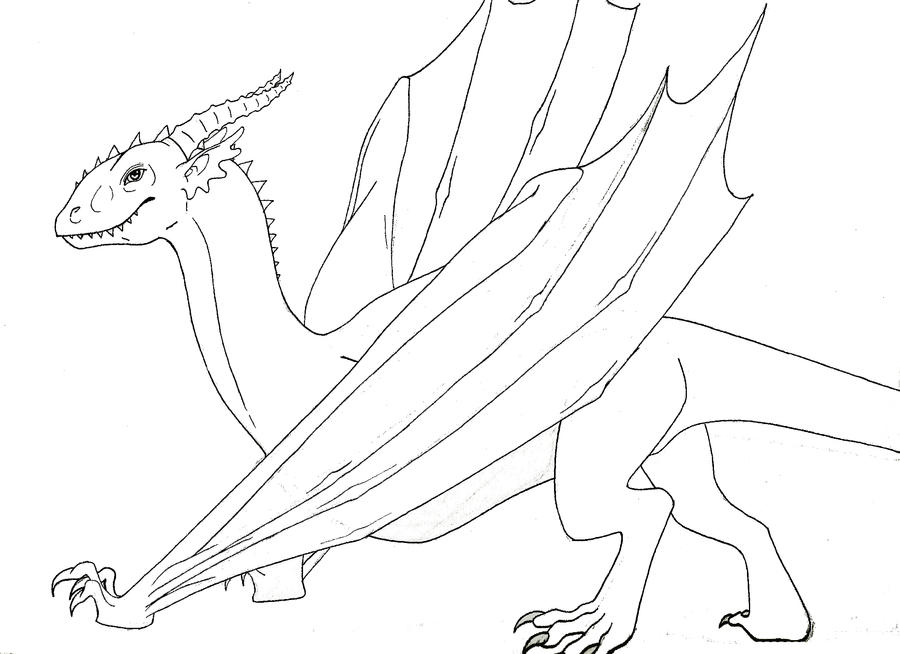 Dinosaurid Dragon by TartarusWolf