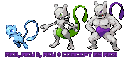 Shiny mew evolution by me7i