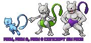 Shiny mew evolution by me7i