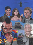 The A - TEAM show poster